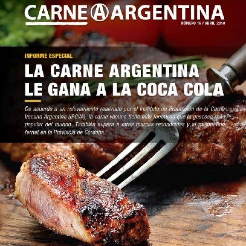 LA CARNE ARGENTINA LE GANA A LA COCA-COLA