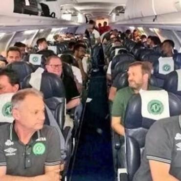 Se estrelló el avión donde viajaba el Chapecoense, finalista de la Sudamericana: hay 76 muertos y 5 sobrevivientes