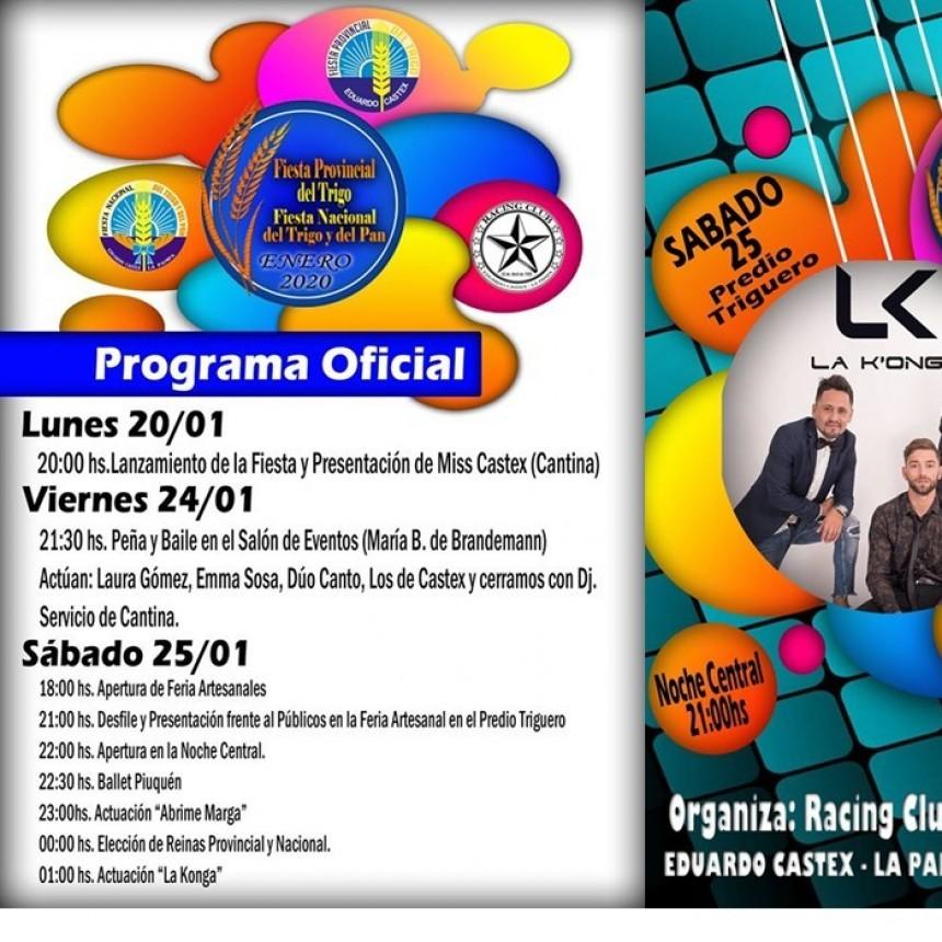 LXV Fiesta Provincial del Trigo y VI Fiesta Nacional del Trigo y del Pan
