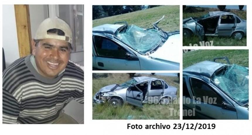 FALLECIÓ EN CAPITAL FEDERAL MIGUEL RIVAS QUIEN SUFRIÓ UN ACCIDENTE EN CERCANÍAS DE TRENEL EN DICIEMBRE 2019