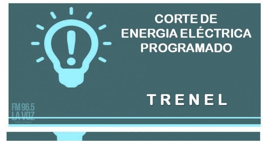 CORTE DE ENERGÍA EN TRENEL