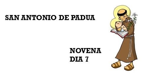 NOVENA A SAN ANTONIO DE PADUA 2021 -Día 7: JUEVES 10