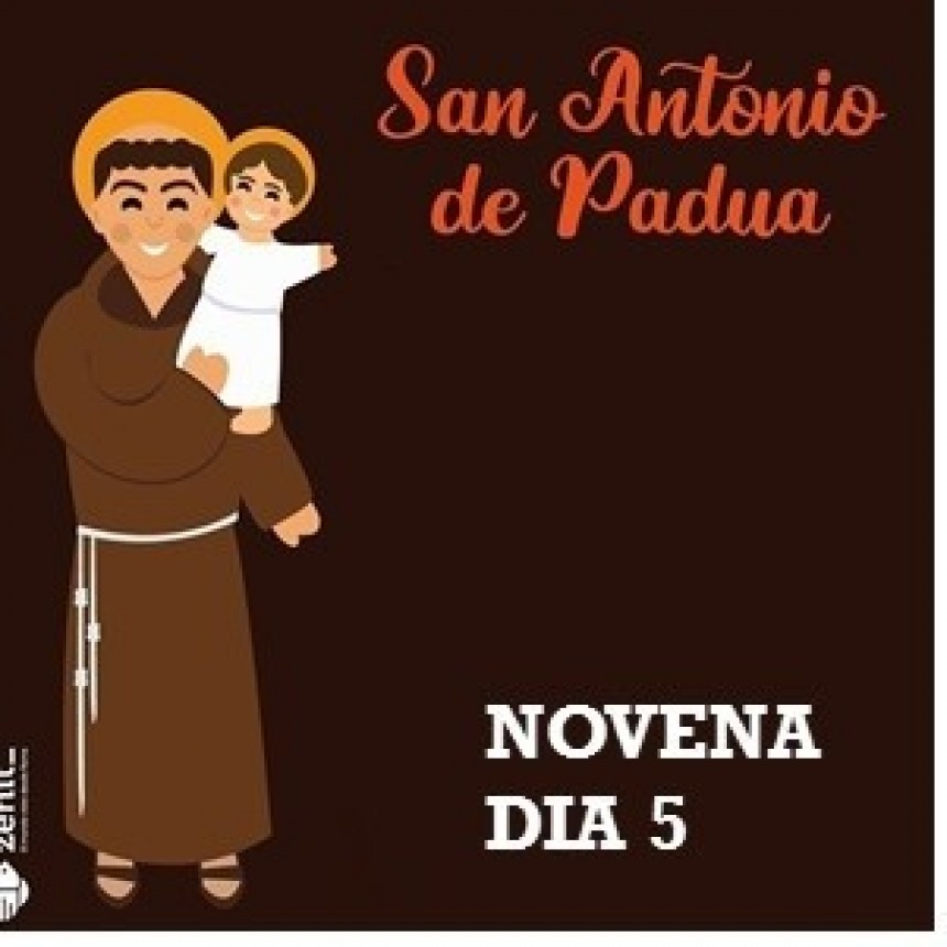 NOVENA A SAN ANTONIO DE PADUA 2021 -Día 5: 8 de junio
