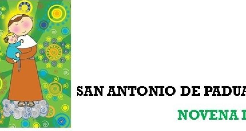 NOVENA A SAN ANTONIO DE PADUA 2021 -Día 8:  11 de junio