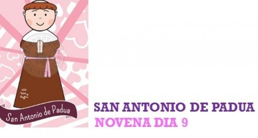 NOVENA A SAN ANTONIO DE PADUA 2021 -Día 9: 12 de junio