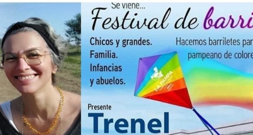 20 de junio Festival de barriletes en Trenel