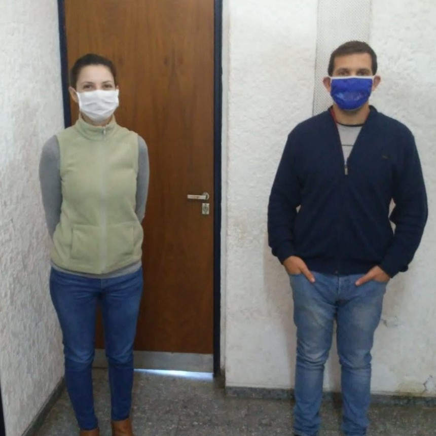 GISELA FANESSI Y CLAUDIO OLIVIERI DE AGRONOMIA MUNICIPAL DIALOGARON CON RADIO LA VOZ