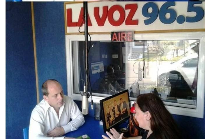 Luis Solana precandidato a senador por el Partido Socialista en La Pampa dialogó hoy con La Voz