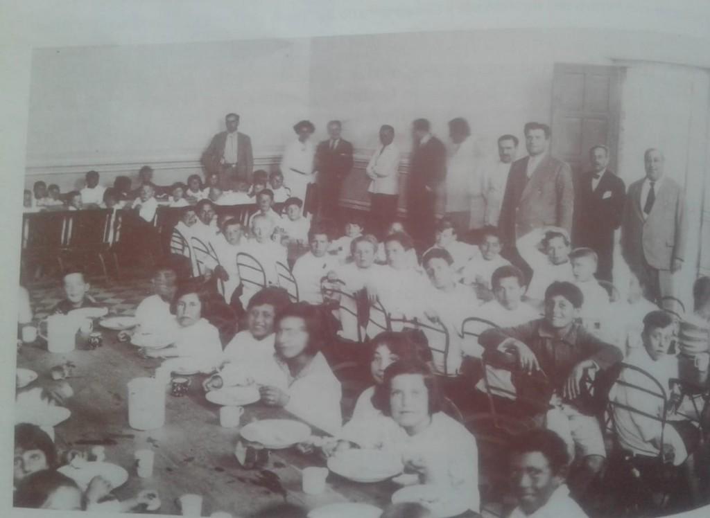 EL COMEDOR ESCOLAR TRENELENSE DE 1932