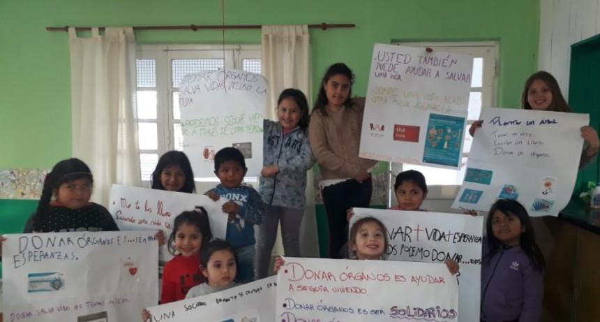 CAMPAÑA EDUCATIVA SOBRE DONACIÓN DE ÓRGANOS.