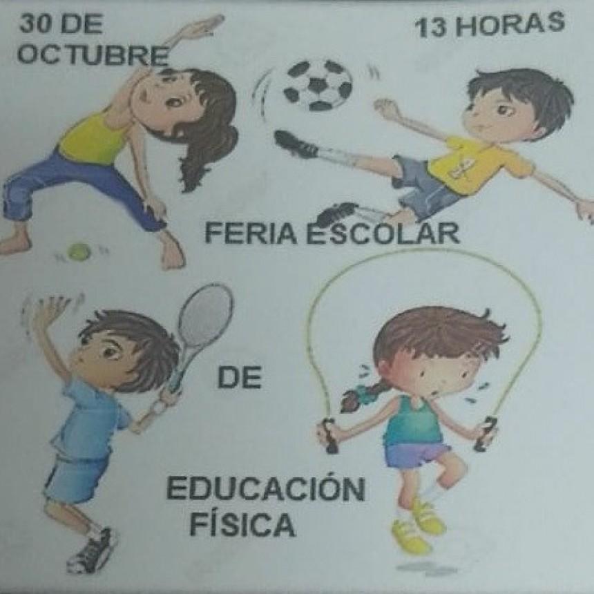 FERIA ESCOLAR DE EDUCACIÓN FISICA EN TRENEL