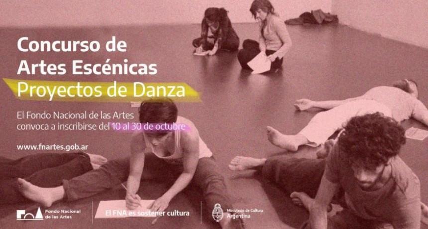 CONCURSO PARA PROYECTOS DE DANZA