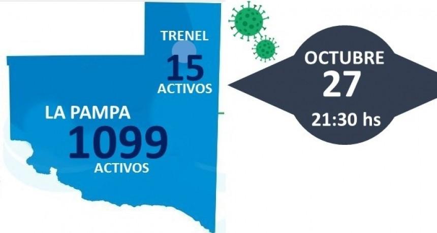 178 nuevos diagnósticos positivos en La Pampa, dos de Trenel