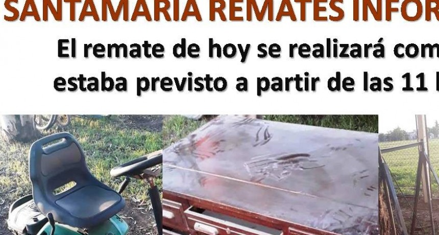 SANTAMARIA REMATES